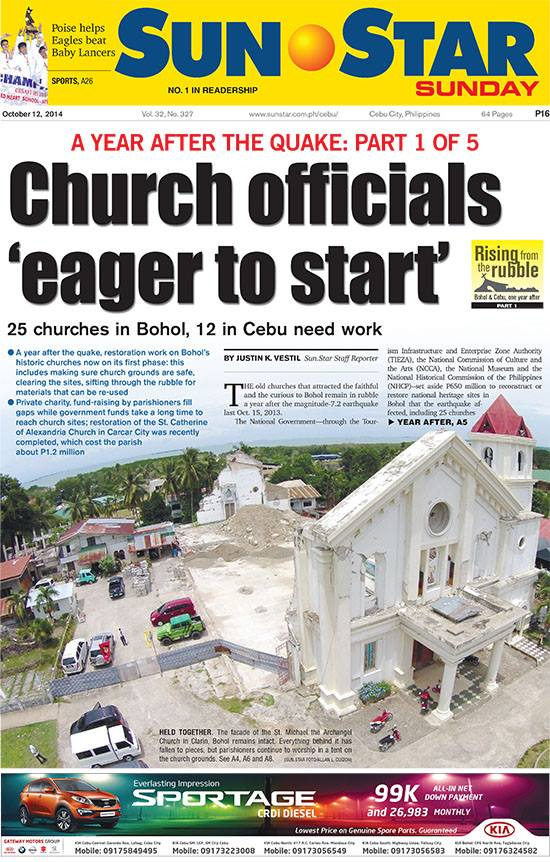Sun.Star Cebu Cebu-Bohol report Part 1